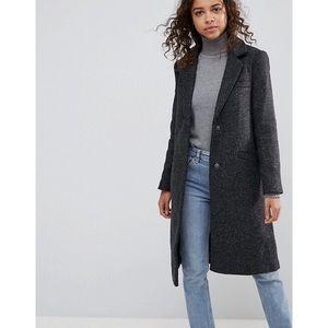 ASOS PETITE Slim Coat in Wool Blend